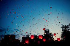 sky lanterns by kotopez on DeviantArt