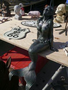 Mermaids at the Hell's Kitchen Flea