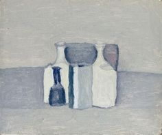 Fiori by Giorgio Morandi. Magic Realism. flower painting