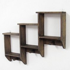 Rakuten: Special price wall hook shelf (brown)- Shopping Japanese products from Japan