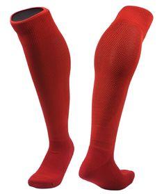 Lovely Annie Men's 1 Pair Knee High Sports Socks for Baseball/Soccer/Lacrosse 005 M(Red) - Walmart.com - Walmart.com Ski Socks, Sport Socks, Socks For Sale, Athletic Socks, Lacrosse, Kids Fashion, Pairs, Baseball, Unisex
