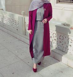 ideas for wedding dresses hijab turkey Iranian Women Fashion, Islamic Fashion, Muslim Fashion, Modest Fashion, Fashion Outfits, Hijab Style Dress, Casual Hijab Outfit, Hijab Chic, Street Hijab Fashion