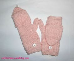 Tuto des moufles mitaines Baby Hats Knitting, Free Knitting, Knitted Hats, Diy And Crafts, Creations, Gloves, Couture, Pop, Manualidades