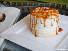Mousse de queso con caramelo salado - Bake-Street.com