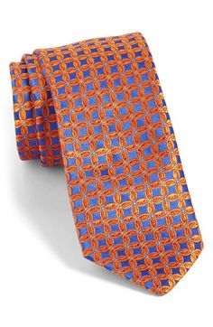 c9ada015349fa2 Ted Baker London Geometric Silk Tie available at  Nordstrom Silk Ties