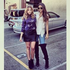 Ash and Shay are so stylish!
