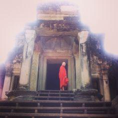 Monk : Angkor wat