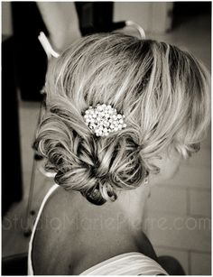 Low Updo, if my hair is long enough