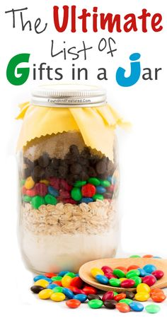 The Ultimate List Of Gifts In A Jar