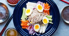 From soba to seasonal pad Thai, here are our best Asian noodle recipes for slurp-able deliciousness. Asian Noodle Recipes, Asian Recipes, Ethnic Recipes, Pear Recipes, Soup Recipes, Dinner Recipes, Soba Salad, Grilled Prawns, Cold Noodles