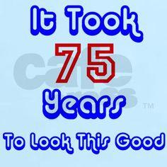 75th cool birthday designs plate Birthday design Birthdays and
