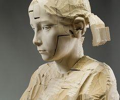 Esculturas em Madeira por Gehard Demetz - 03