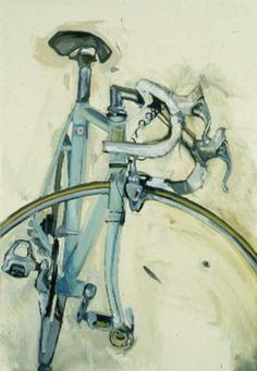 A beautiful painting of a beautiful bike... Bicyclepaintings.com - Bianchi on Paper