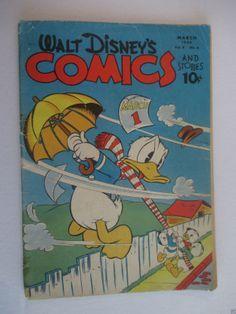 1944 Walt Disney's Comics And Stories
