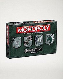 Puzzle Board Games, Monopoly Game, Fun Games, Attack On Titan, Best Gifts, Logan, Puzzles, Room Decor, Manga
