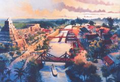 Lost River Delta, Tokyo DisneySea - Phillip Freer
