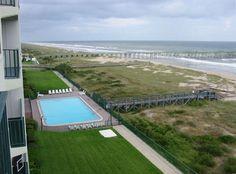 Amelia South Vacation Rental - VRBO 231116 - 2 BR Fernandina Beach Condo in FL, Holiday at the Beach! Wi-Fi, Oceanfront Balcony!