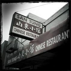 San Tung (Inner Sunset)  The fam's SF staple