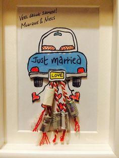 Geld geven voor een huwelijk? Lijst het in.