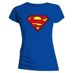 Supergirl Classic T-Shirt Cool Belt Buckles, Superman Man Of Steel, Supergirl, Classic T Shirts, Closet, Tops, Fashion, Moda, Armoire