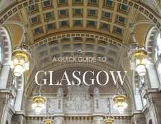 Glasgow vs. Edinburgh: Which Scottish city should you visit, why, and what will you do when you're there!?