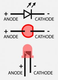 Tweaking4All.com » Hardware - What is a Breadboard and How to use it ... (LED pinout)