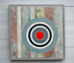 Items similar to Made to Order / Customize Your Own, Bullseye Series, Number One, Original Rustic Modern Abstract Wood Sculpture Art, 20 x 20 on Etsy School Auction Projects, Circle Art, Modern Rustic, Modern Classic, Kids Room Design, Eye Art, Wood Sculpture, Archery, Wood Art