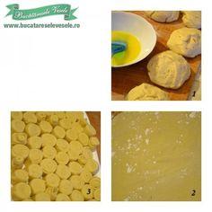 preparare-aluat-cornulete Cake Cookies, Breakfast, Morning Coffee, Morning Breakfast