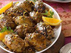 Chicken Thighs with Mustard-Citrus Sauce