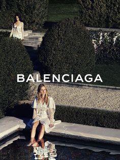 Balenciaga SS16 Photography Steven Klein Models Zoe Kravitz, Anna Ewers