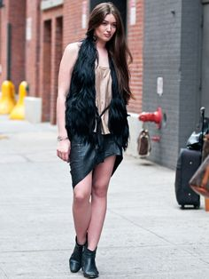 Spring 2013 Fashion Week Street Style - Photos of NYFW Street Style - Marie Claire