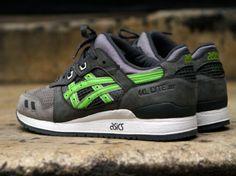 Ronnie Fieg x Asics Gel Lyte III Super Green