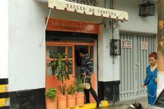 Santa María la Ribera, taller de costura