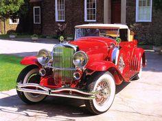 Cars 1932 Duesenberg Model J Convertible By Murphy Red Fvl