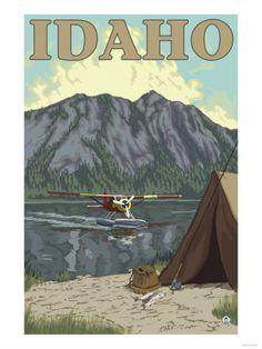 Bush Plane & Fishing, Idaho http://appetiteforidaho.blogspot.com/2013/05/pride-of-idaho.html