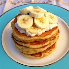 Roasted Bananas Foster Pancakes | Community Post: 19 Mind-Blowing Pancakes Guaranteed To Change Breakfast Forever