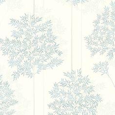 Livingwalls non-woven wallpaper Colibri wallpaper floral white, gray, blue 366261 Tree Leaf Wallpaper, Home Decor Decals, Pattern Wallpaper, Wallpaper, Tapestry, Tree Designs, Blue Wallpapers, Floral Wallpaper, Leaf Wallpaper