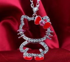 Design of Hello Kitty Jewelry for Girls and Women