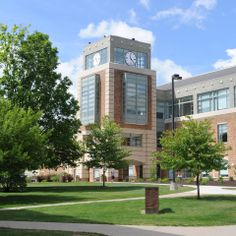 Halle Library at Eastern Michigan University in Ypsilanti, Michigan