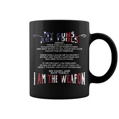 GUNS ARE TOOLS HOT MUG  coffee mug, papa mug, cool mugs, funny coffee mugs, coffee mug funny, mug gift, #mugs #ideas #gift #mugcoffee #coolmug