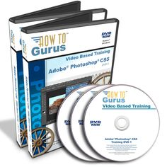 New! Adobe PHOTOSHOP CS6 Tutorial Training Computer Course 20 hours on 3 DVDs #HowToGurus
