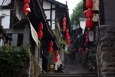 Located on the lender of the Jia Ling River, not far from its confluence with the great Yangtze is the historical town of Ci Qi Kou, formerly known as Lengthy Yin. Protecting an place of some 1.2 m?2 (291.6 acres) it is 14 kilometers to the western of Chongqing City. See:  http://www.chinatour.com/chongqing/chongqing-attractions/ciqikou-old-town.htm