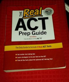 The Real ACT, 3rd Edition by ACT Inc. Staff (2011, Paperback)
