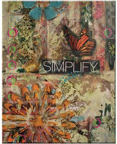 Mixed media collage pieces, $24.95, by Carmen McCullough.