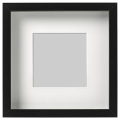 RIBBA Frame, white, Decorate with pictures you love. This frame has classic straight lines and comes in many sizes, perfect for a large picture wall. Picture Frame Crafts, Collage Picture Frames, Picture Wall, Collage Photo, Photo Collages, Box Frames, Frames On Wall, Ikea Photo Frames, Cadre Photo Mural
