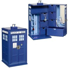 Doctor Who TARDIS Jewelry Box... I NEED   this! It is real, and due out Nov/13!!!