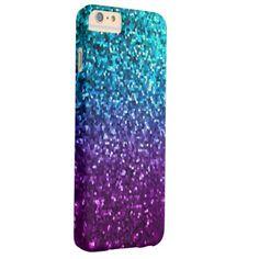 iPhone 6 Plus Case Barely Mosaic Sparkley Texture #zazzle