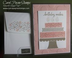 DIY Crafts, Stampin' Up!, Build a Birthday, Sprinkles of Life. The new 2015/16 Stampin' Up! Catalog starts June 2nd! Let me know if I can send you a copy!