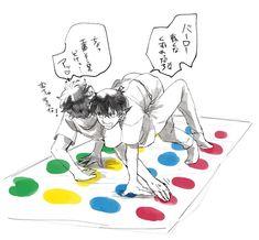 Conan Comics, Detektif Conan, Anime Couple Kiss, Anime Couples, Magic For Kids, Gosho Aoyama, Kudo Shinichi, Magic Kaito, Shounen Ai
