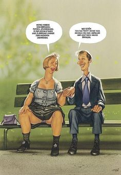 Fotos   Nachrichten.at Old People Cartoon, Digital Portrait, Marvel Art, Adult Humor, Funny Moments, Haha Funny, Comedy, Funny Pictures, Romance